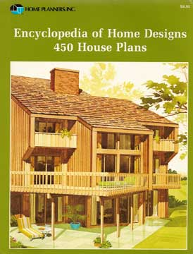 450 HOUSE PLANS ENCYCLOPEDIA OF HOME DESIGNS 1989