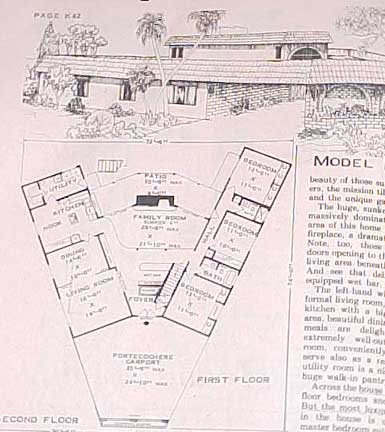 DESIGN COLLECTION  HOUSE PLANS  500 OUTSTANDING DESIGNS (1971)