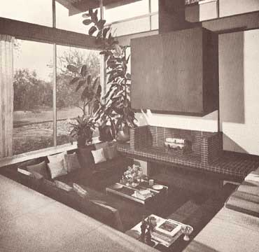 INSIDE TODAY'S HOME, BY RAY AND SARAH FAULKNER 1968