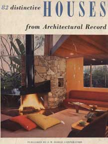 82 Distinctive Houses From Architectural Record 1952