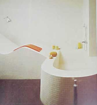 THE BED AND BATH BOOK BY TERENCE CONRAN