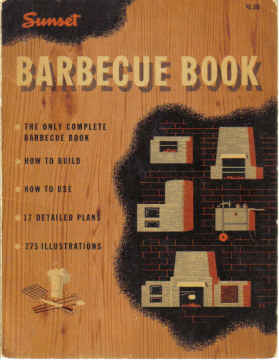 SUNSET BARBECUE BOOK (1950)