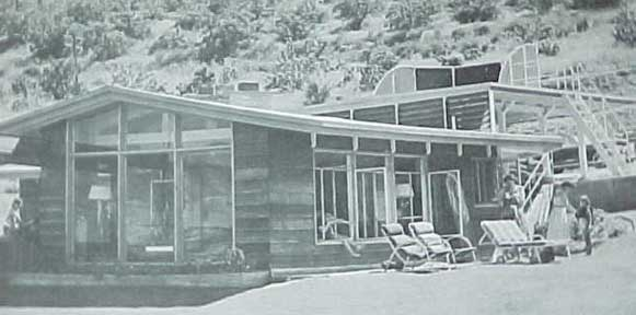 CABINS AND VACATION HOUSES , A SUNSET BOOK (1960)