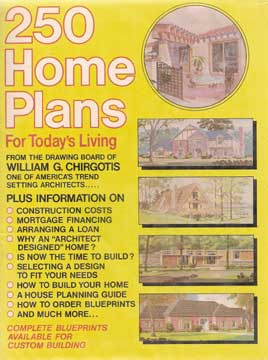 250 HOME PLANS FOR TODAY'S LIVING 1979