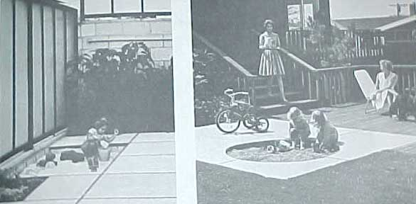 CHILDREN'S ROOMS AND PLAY YARDS, A SUNSET BOOK (1970)