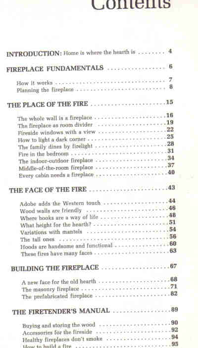 HOW TO PLAN AND BUILD FIREPLACES, A SUNSET BOOK (1973)