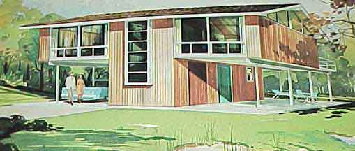 HOME PLANNERS 130 VACATION HOMES (1967)
