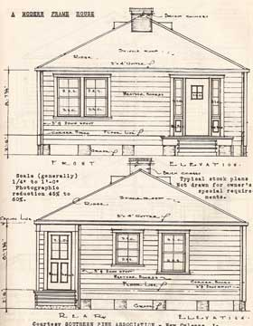 HOUSE CONSTRUCTION DETAILS. BY NELSON L BURBANK. 1942
