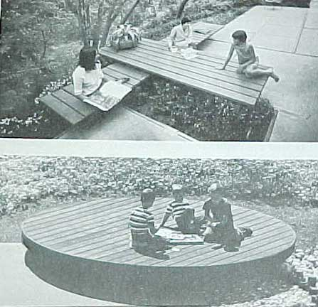 HOW TO BUILD DECKS, A SUNSET BOOK (1973)