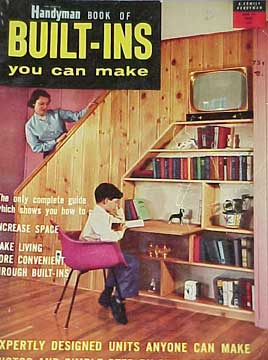 HANDYMAN BOOK OF BUILT-INS YOU CAN MAKE (1956)