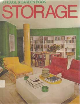 A HOUSE & GARDEN BOOK, STORAGE BY M DAVIS 1978