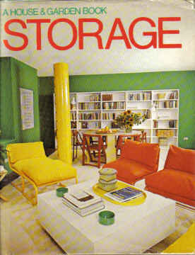 A HOUSE & GARDEN BOOK ,STORAGE. BY M DAVIS 1978