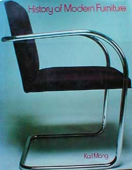 HISTORY OF MODERN FURNITURE BY KARL MANG (1979)