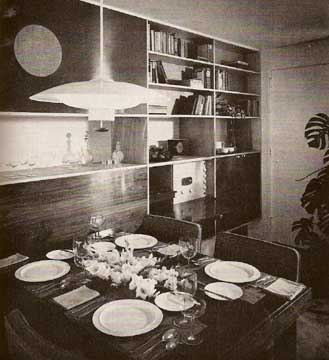 INSIDE TODAY'S HOME , RAY AND SARAH FAULKNER 1954