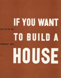 IF YOU WANT TO BUILD A HOUSE BY ELIZABETH MOCK (1946)