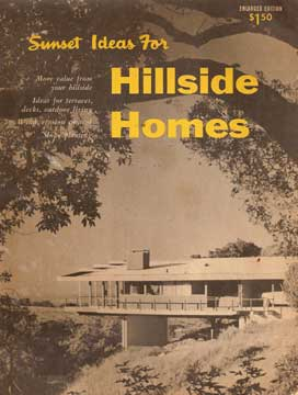 SUNSET IDEAS FOR HILLSIDE HOMES (1956)