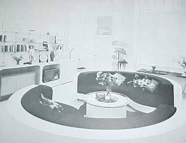 INTERIOR SPACE INTERIOR DESIGN by Virginia Frankel 1973