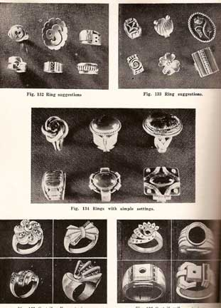 JEWELRY MAKING FOR SCHOOLS TRADESMEN CRAFTSMEN 1952