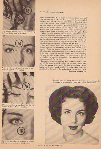 BEAUTY BOOK OF KNOWLEDGE (1950's)