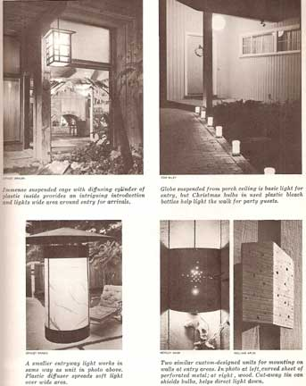 LIGHTING YOUR HOME, A SUNSET BOOK (1963)