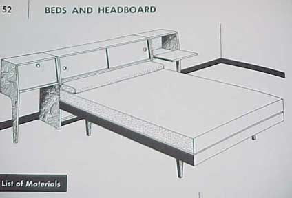 HOW TO BUILD MODERN FURNITURE BY MARIO DAL FABBRO 1957