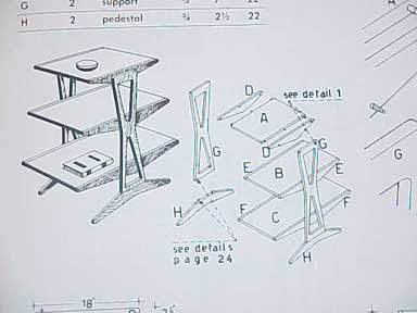 Genial HOW TO BUILD MODERN FURNITURE BY MARIO DAL FABBRO 1957