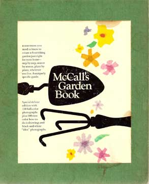MCCALL'S GARDEN BOOK DELUXE EDITION WITH SLIPCASE (1968)