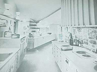 MODERN KITCHENS,  A SUNSET BOOK (1955)