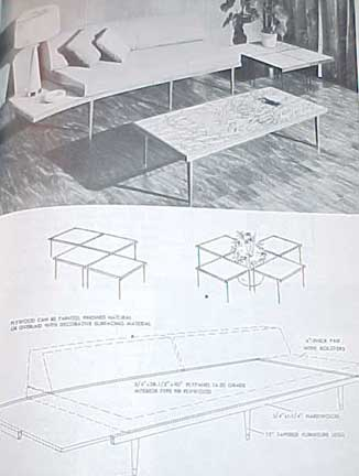 More Plywood Projects for Home Craftsman by Robert Scharff 1959