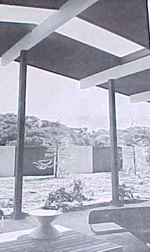 OUTDOOR LIVING ROOMS. BY EARLE W GAGE (1958)