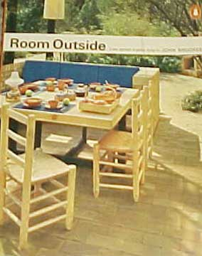 ROOM OUTSIDE, A NEW APPROACH BY JOHN BROOKES (1969)