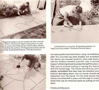 PRACTICAL & DECORATIVE CONCRETE BY ROBERT WILDE SC