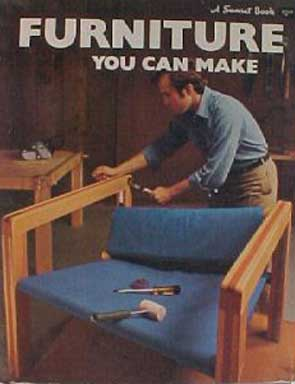 FURNITURE YOU CAN MAKE, A SUNSET BOOK (1971)