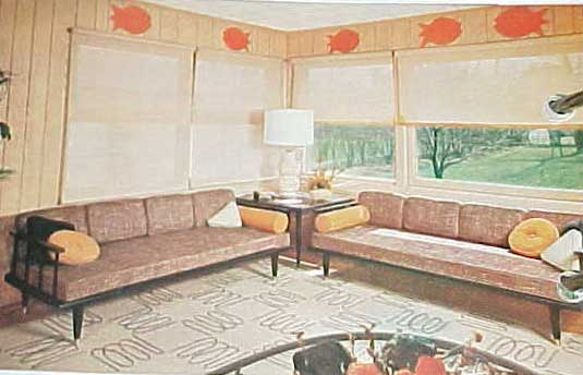 BETTER HOMES AND GARDENS DECORATING BOOK (1956 slipcase edition)
