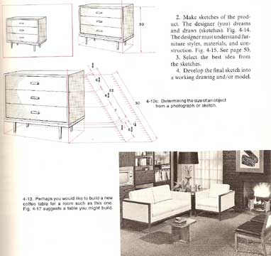 ADVANCED WOODWORK AND FURNITURE MAKING (1972 edition)