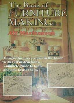 Book of Furniture Making by Alf Martensson (1979)