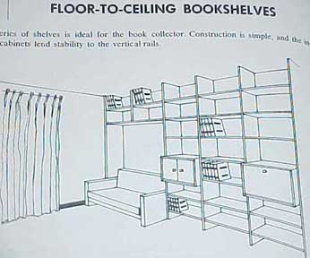 HOW TO MAKE BUILT-IN FURNITURE by Mario Dal Fabbro 1974 2nd ed