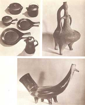 CERAMICS BY GLENN C. NELSON. (1960)