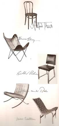 CHAIRS by George Nelson 1994 reprint