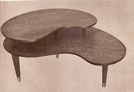 CONTEMPORARY WOOD FURNITURE by H.A. Menke 1961