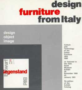 DESIGN FURNITURE FROM ITALY 1950-1980
