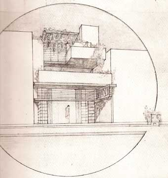 DRAWINGS OF FRANK LLOYD WRIGHT Drexler MoMA 1962