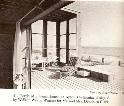 DESIGNS FOR OUTDOOR LIVING by Margaret Olthof Goldsmith 1941
