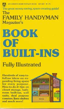 FAMILY HANDYMAN MAGAZINE'S BOOK OF BULT-INS 1970