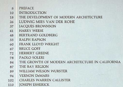 ARCHITECTS ON ARCHITECTURE, NEW DIRECTIONS IN AMERICA (1966)