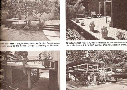 SUNSET GARDEN AND PATIO BUILDING BOOK (1969)