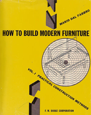 How to Build Modern Furniture by Mario Dal Fabbro 1951