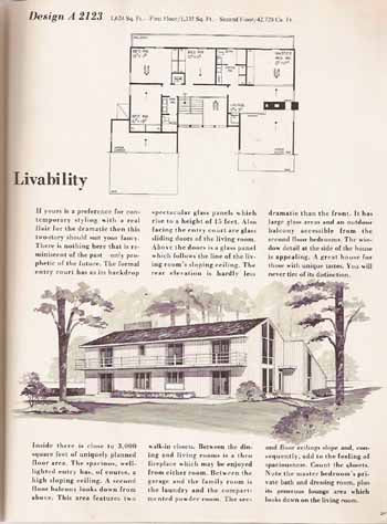 HOME PLANNERS 230 HOMES - 1 1/2 & 2 STORY DESIGNS (1977)