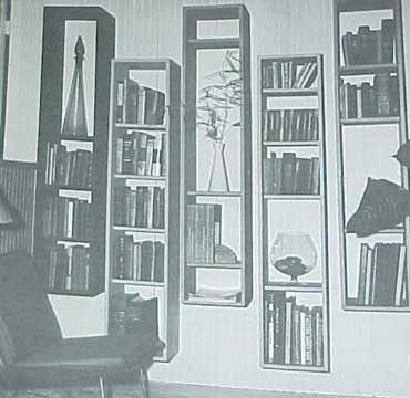 INTERIOR ART & DECORATION , A SUNSET BOOK (1963)