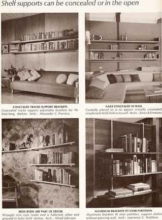 IDEAS FOR STORAGE , A SUNSET BOOK (1966)